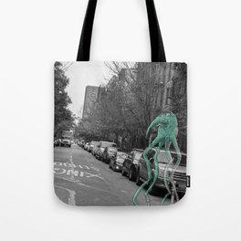 Unseen Monsters of New York - Makah  Tote Bag