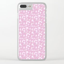 Fairy Power Print Clear iPhone Case