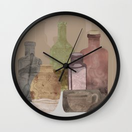 Deconstructed Coffee Wall Clock