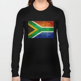 National flag of the Republic of South Africa Long Sleeve T-shirt