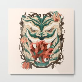 Show me your Wild Side - Tigre Metal Print
