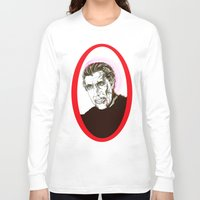 dracula Long Sleeve T-shirts featuring Dracula  by Christopher Chouinard