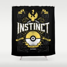 An Instinctual Decision Shower Curtain