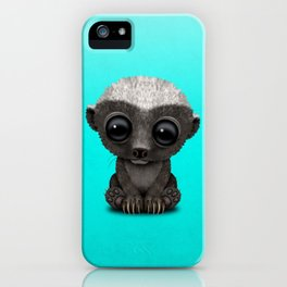 Cute Baby Honey Badger iPhone Case