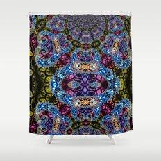BBQSHOES: Fractal Design 1020C Digital Psychedelic Art Shower Curtain