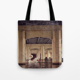 Floating the River! Tote Bag