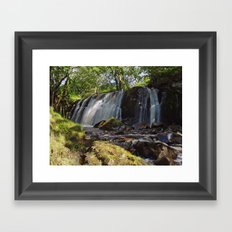 Allt Beochlich Waterfall Framed Art Print