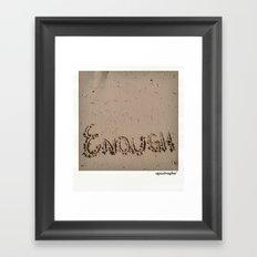 Enough! Framed Art Print