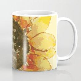 Consider the Sunfower Coffee Mug