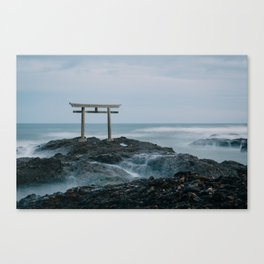 Ocean Shrine Canvas Print