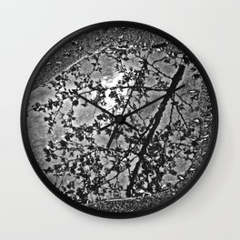 Art of the Puddle - The Peace Collection Wall Clock