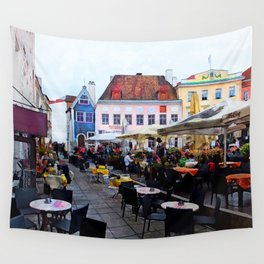 Tallinn restaurants Wall Tapestry