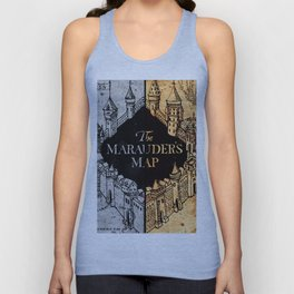 Marauders Map Unisex Tank Top
