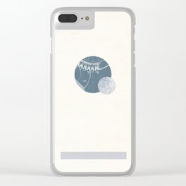 Pluto I Clear iPhone Case