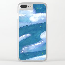 chunk of sky #1 Clear iPhone Case