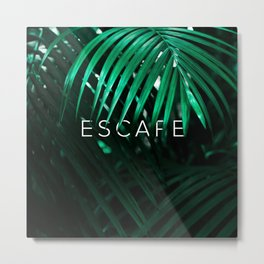 Escape into the Jungle Metal Print
