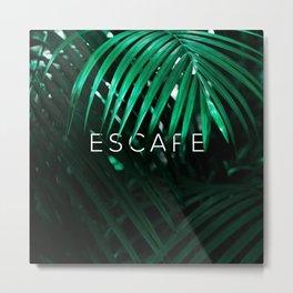 Escape into the Jungle Metal Print