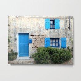 | Blue | San Pantaleo | Sardegna | Metal Print