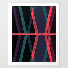 Deviations Art Print