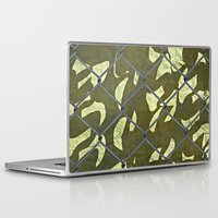 camouflage Laptop & iPad Skins featuring Camouflage  by Ethna Gillespie
