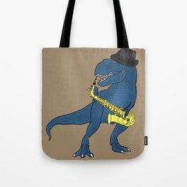 He-Rex Sax Tote Bag