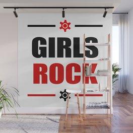 GIRLS ROCK! Wall Mural