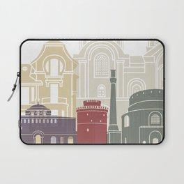 Thessaloniki skyline poster Laptop Sleeve