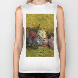 """Paul Gauguin """"Reine-marguerites, chapeau et livre"""" Biker Tank"""
