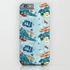 Ski Pattern iPhone 6s Slim Case