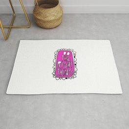 Rule #1: Pink Rug