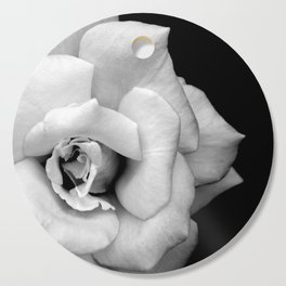 Rose Monochrome Cutting Board