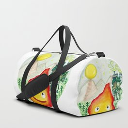 Howl's Moving Castle - Calcifer Duffle Bag