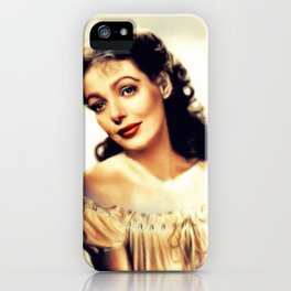 Loretta Young, Hollywood Legend iPhone Case
