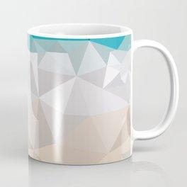 Low poly beach Coffee Mug