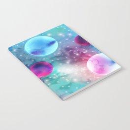 Vaporwave Pastel Space Mood Notebook