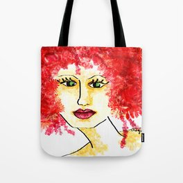 Miss Blossom Tote Bag