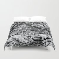 anxiety Duvet Covers featuring Anxiety by Mind-off