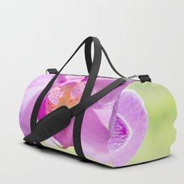 Backlit Iris Duffle Bag