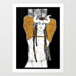 [Caelum Florescens] Taurus Art Print