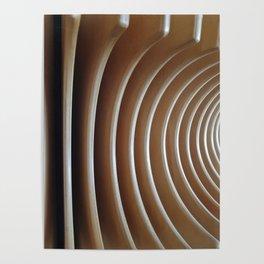 ripple wood Poster