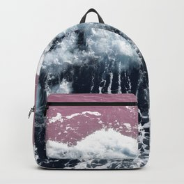 Aerial View of Blue Waves Backpack