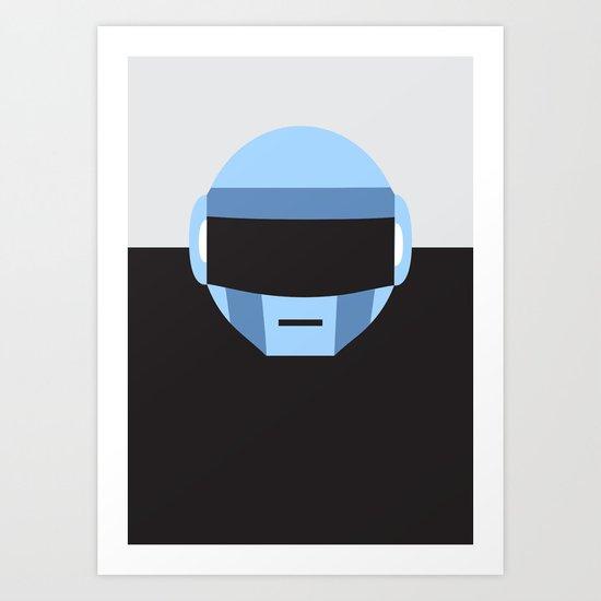 Thomas Bangalter | Daft Punk Art Print