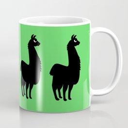 Angry Animals: llama Coffee Mug