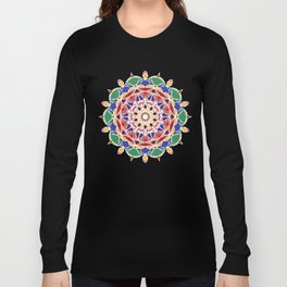 Mandala Flower Long Sleeve T-shirt