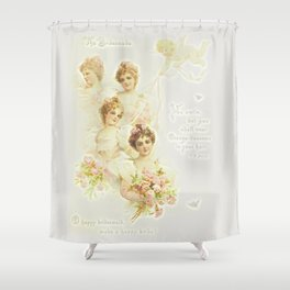 The Bridemaids Shower Curtain