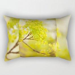 Acer flowering twig detail Rectangular Pillow