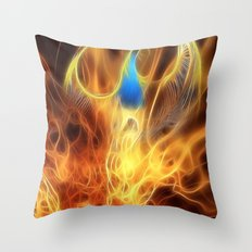 From the ashes... Throw Pillow