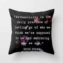 35   | Brene  Brown Quotes  | 190717 | Throw Pillow