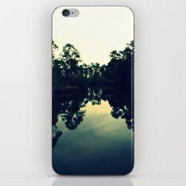 Reflection Swamp iPhone Skin