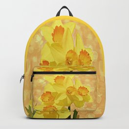 Sparkling Daffodils Backpack